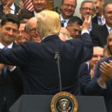 Puerile High Fives in the Rose Garden After the House Votes to Repeal and Replace the ACA